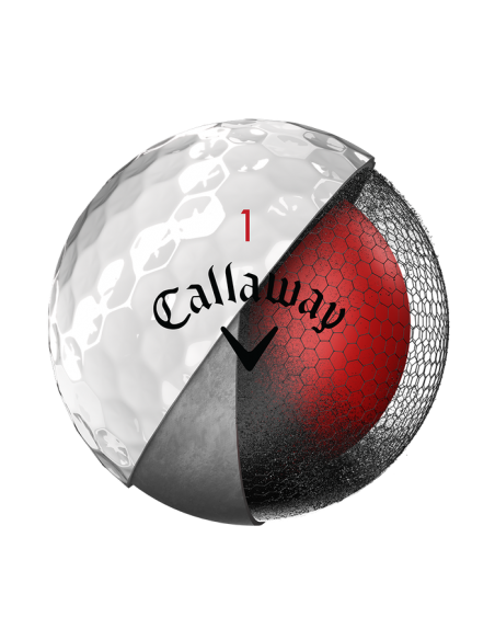 Callaway Chrome Soft 18 [12-pack] LOGOBOLLAR