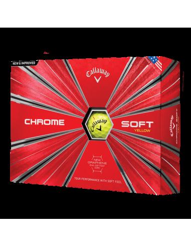 Callaway Chrome Soft 18 [12-pack] LOGOBOLLAR