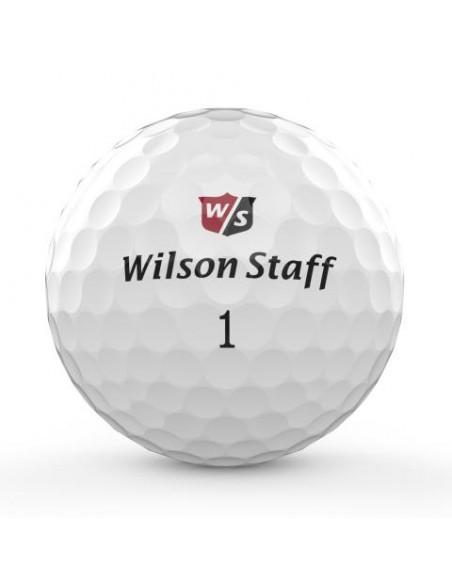 Wilson DX3 SOFT SPIN [12-pack] LOGOBOLLAR