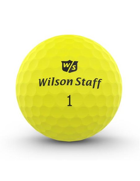 Wilson DX2 Soft Optix [12-pack] LOGOBOLLAR