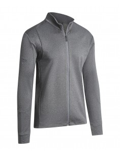 Full Zip Waffle Pullover...