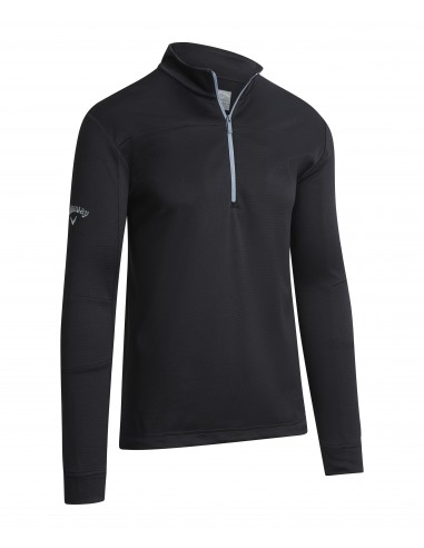 Pieced Waffle 1/4 Zip Pullover med...