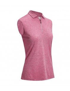 Sleevless Heather Polo med...