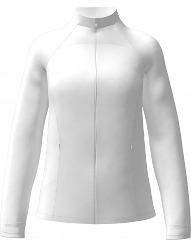 Full Zip Windwear Jacket med brodyr